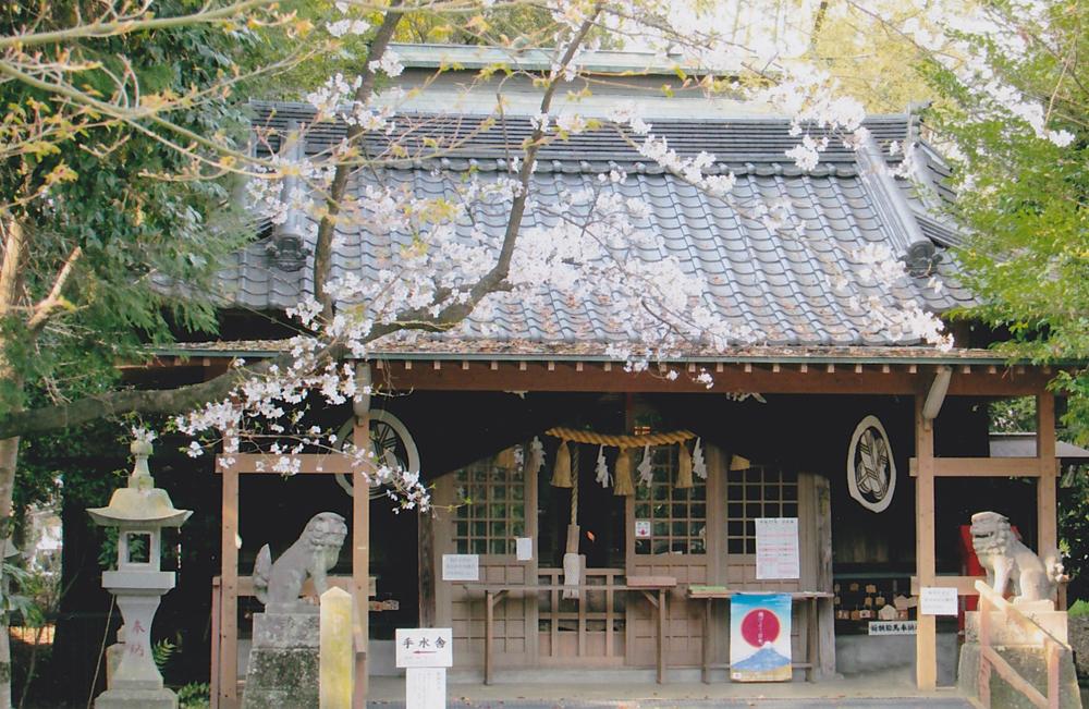 笛田神社さくらの季節