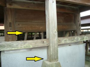 熊本地震山田神社被害