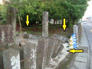 熊本地震良間日吉神社被害