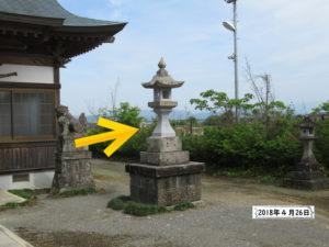 笛田神社熊本地震から2年後木部阿蘇神社